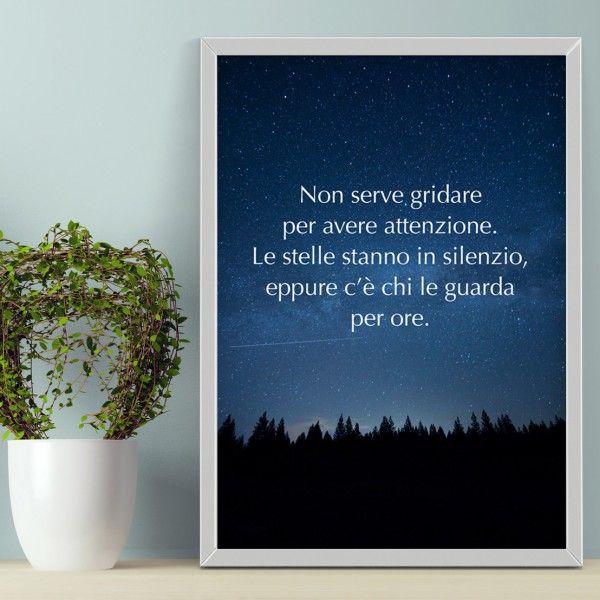 Come neutralizzare le persone che gridano? Con un poster in bella vista con questa perla di saggezza.