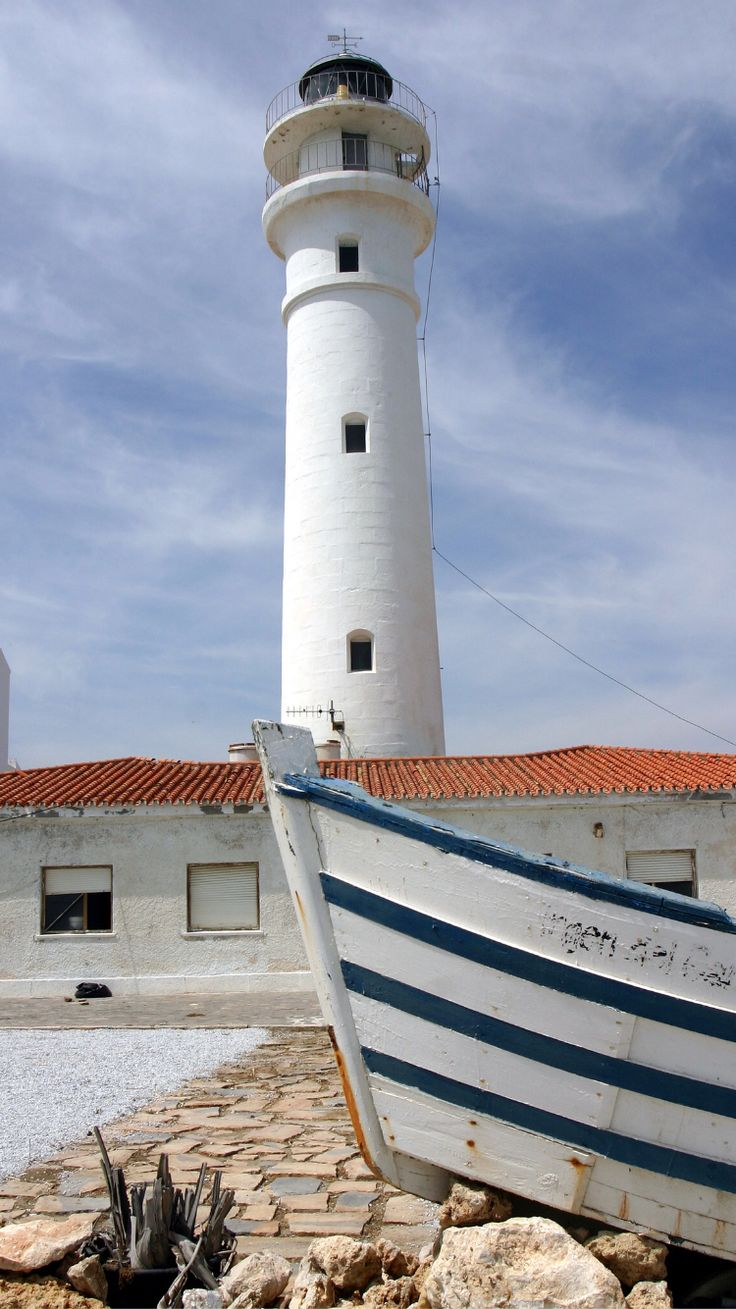 Lighthouse, Torrox, Andalusia, Spain- by California Will