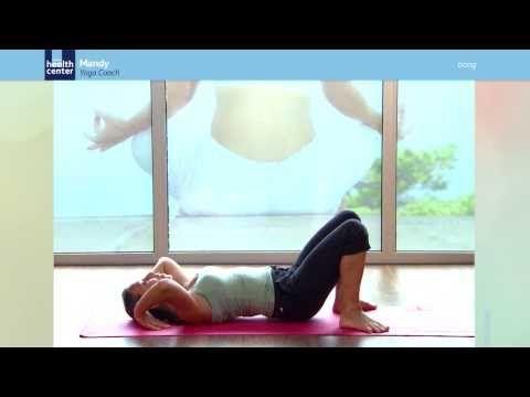 #Boog. Deze gevorderde beweging rekt de borst en longen op. Daarnaast verstevigt het de armen, polsen, benen, billen, buik en rug. #yoga   Achmea Health Centers