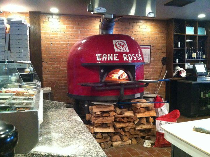 Stefano Ferrara pizza oven at Cane Rosso,  Deep Ellum, Dallas