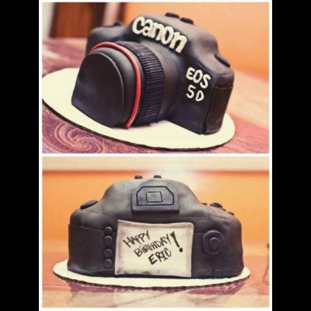 1000 Images About Camera Cakes For Your Photographer On