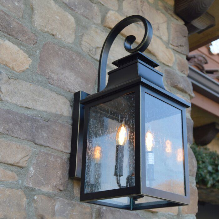 Sol 72 Outdoor Anner Outdoor Wall Lantern Reviews Wayfair Outdoor Light Fixtures Wall Lantern Outdoor Wall Lighting