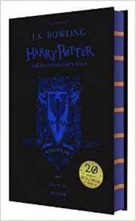 Harry Potter and the Philosopher's Stone - Ravenclaw Edition : J. K. Rowling : 9781408883785   Celebrate 20 years of Harry Potter magic with four special editions of Harry Potter and the Philosopher's Stone. Gryffindor, Slytherin, Hufflepuff, Ravenclaw