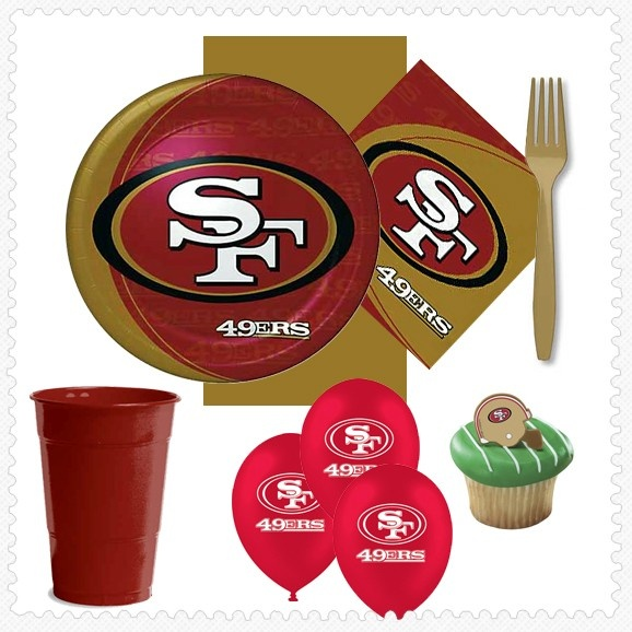 31 best images about football party supplies on pinterest for Super bowl party items