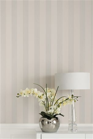 would love for my bedroom! Buy Collection Glitter Wide Stripe Wallpaper from the Next UK online shop