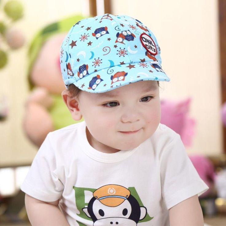 Baru lahir fotografi lucu kid baby boy gadis balita bayi topi owl baseball cap bayi topi katun anak topi bonnet enfant