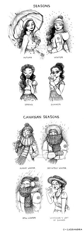 So true. I live in Canada and this could not be more true!!