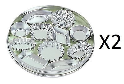 Fox run 36pc tinplated #steel mini tartlet set #bakeware w/ #storage tin (2-pack),  View more on the LINK: http://www.zeppy.io/product/gb/2/282341237569/
