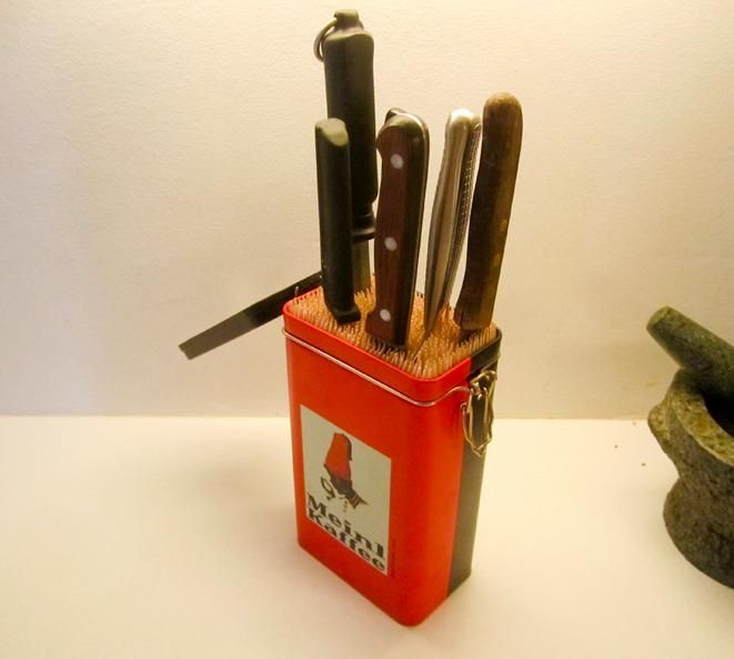 Подставка для ножей (DIY) / Организованное хранение / ВТОРАЯ УЛИЦА