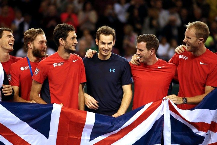 Andy Murray's 'girlfriend on the go' joke blows up teammate Andy Murray #AndyMurray