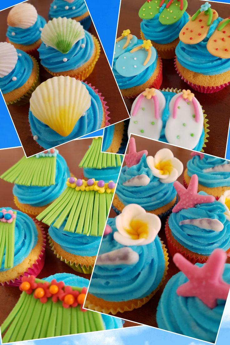 Tropical cupcakes / Tropische cupcakes
