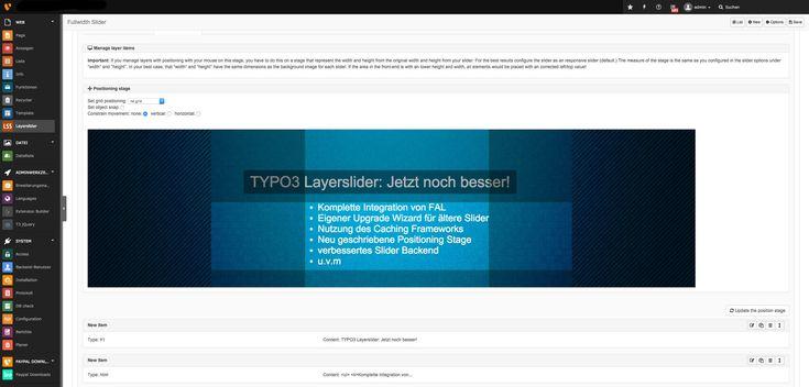 """Die TYPO3 Extension """"Layerslider"""" vorgestellt"""