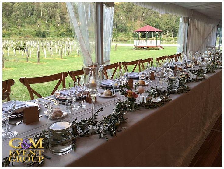 O'Reillys Canungra Valley Vineyards Wedding    Table Setting    Country Wedding #weddingstlye #bridaltable #tabledecoration #countrywedding #decoration #vineyardwedding #wedding