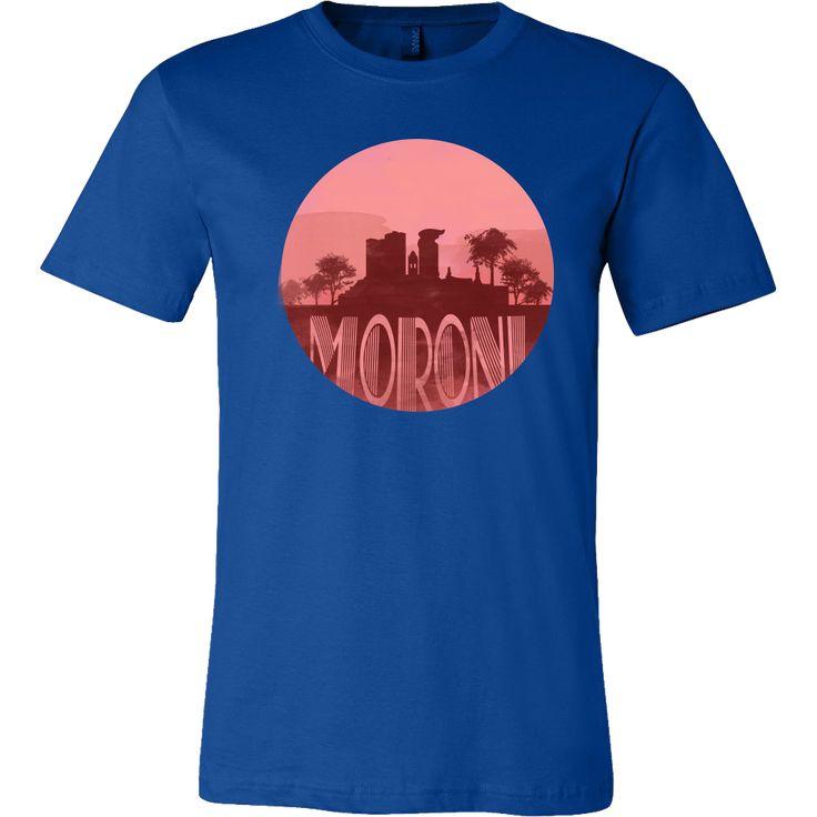 Moroni Capital Skyline Horizon Sunset Love Comoros Shirt