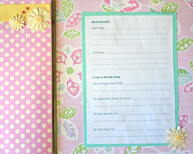 44 Best Baby Journal Ideas Images On Pinterest Baby