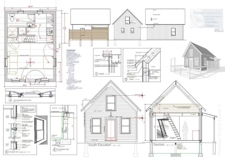 16x24 blueprint for cabin joy studio design gallery best design Small cabin plans free
