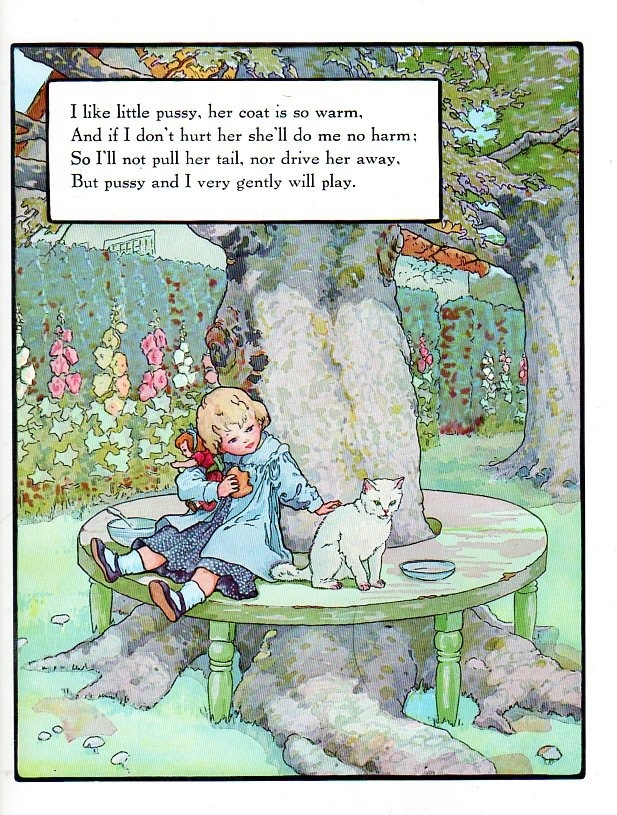 I like little pussy frederick richardson illustrations - Ilustraciones infantiles antiguas ...