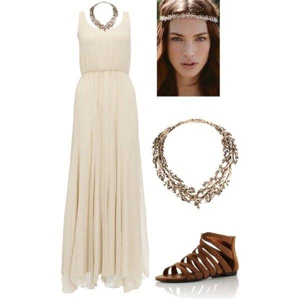 Roman goddess dress!