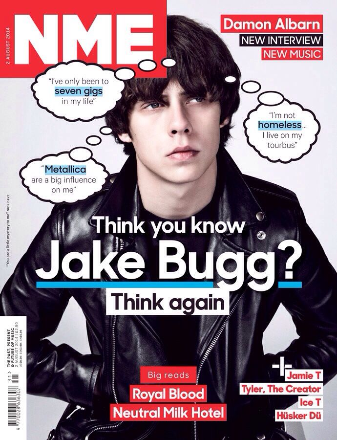 NME Cover, August 2nd 2014