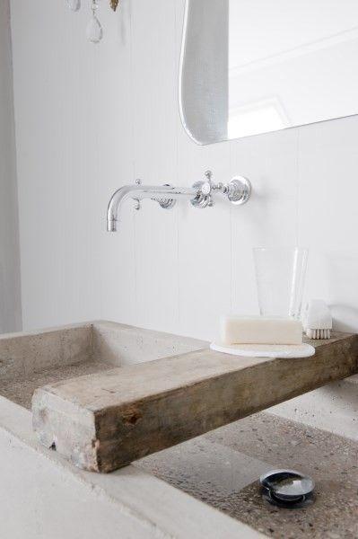 25 beste idee n over natuurlijke badkamer op pinterest neutrale badkamer - Maison am sanson architetti ...