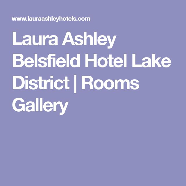 Laura Ashley Belsfield Hotel Lake District   Rooms Gallery