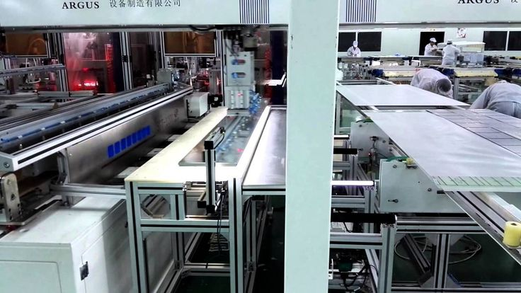 ARGUS SOLAR+ Automatic Solar Cell Tabber&Stringer +Automatic Lay-up Machine