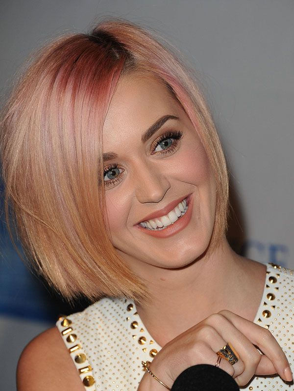 Katy Perry's Blonde Bob - I want my sister@Cuquita Pruneda to do this