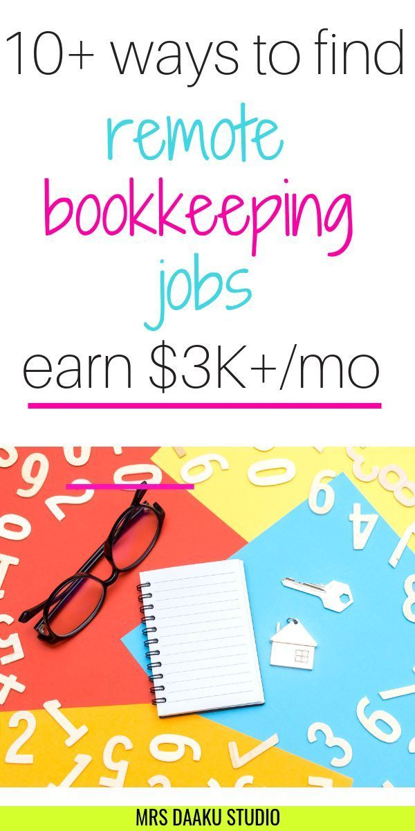 Bookkeeping jobs from home: 6+ companies that hire…