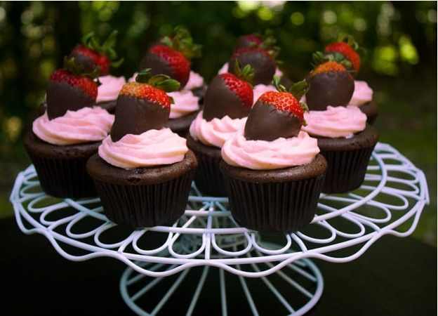 11 Best Cupcakes Decorations Ideas Images On Pinterest & Strawberry Cupcake Decorating Ideas - Elitflat
