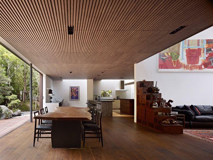 Timber Ceiling, Wood Ceilings, Wooden Ceiling Design, Wood Design, Modern  Design, Tokyo Japan, Japanese House, Japanese Style, Japanese Home Design Part 90