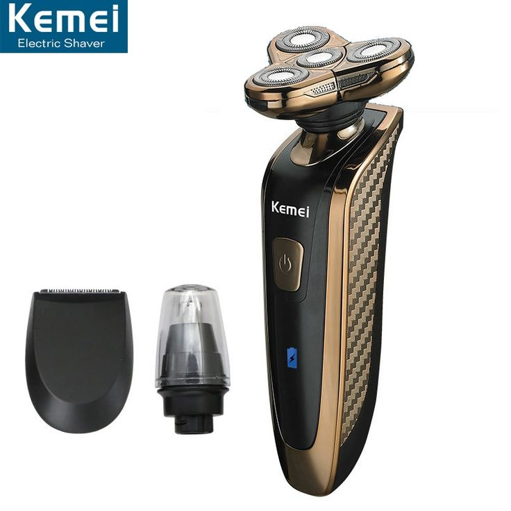 27.29$  Watch now - http://alixan.shopchina.info/go.php?t=32508595611 - Kemei 363 Electric Shaver Rechargeable Washable 4 Heads Razor 3 in 1 Blade Shaving Razors Men Face Care 4D Floating Trimmer 27.29$ #bestbuy