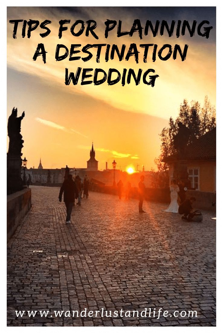 The pros and cons of planning a destination wedding