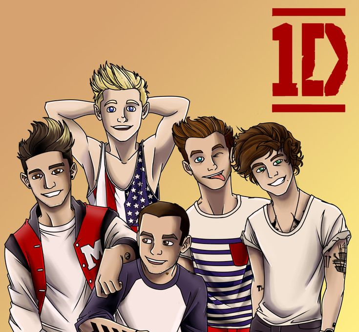 One Direction by 0-Pau-0.deviantart.com on @deviantART