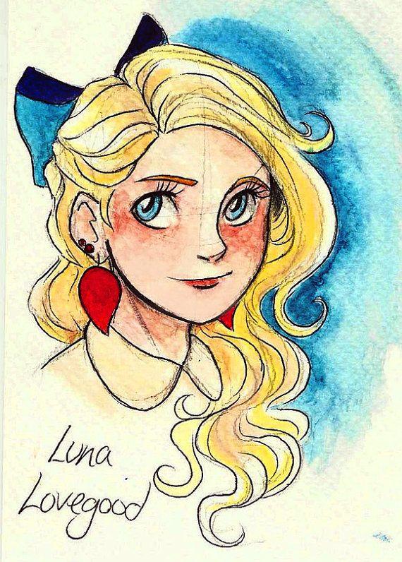 Luna lovegood!!! by andythelemon