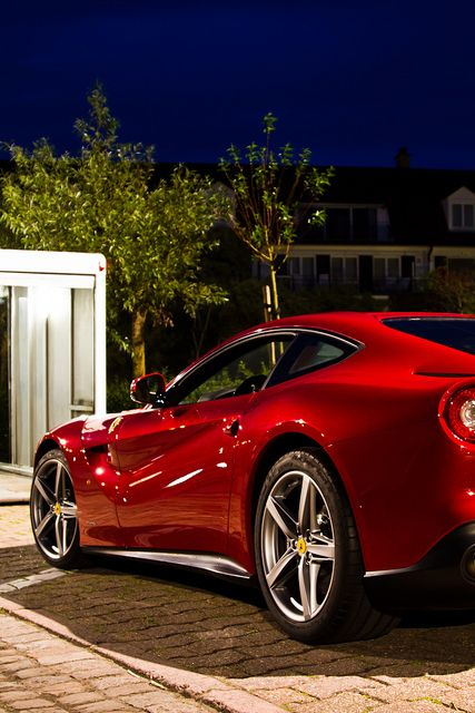 F12 Berlinetta //Teddy Legris Who's been taking pictures of my car at night!?!? ;-P