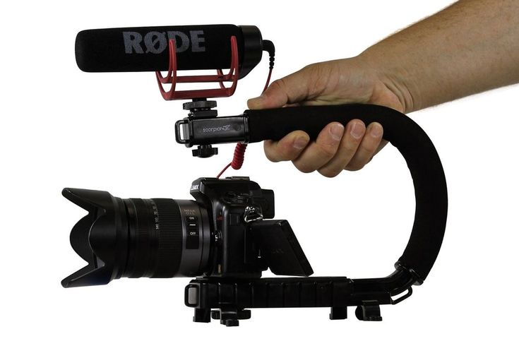 Cam Caddie Scorpion Jr Stabilizing Camera Handle for DSLR GoPro Action Camera  #CamCaddie #ScorpionJRBlack