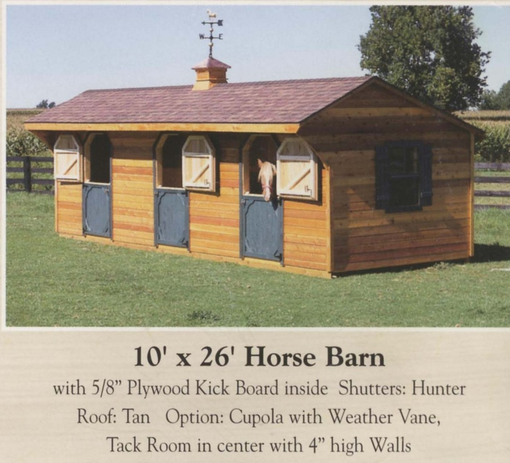 small horse barns - Google Search