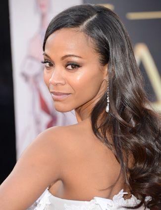 """Zoe Saldana: She's the star of the highest grossing motion picture of all time, James Cameron's """"Avatar"""" AND she's a proud Afro-Latina! """"As a Latina, I think we should be very proud of our heritage,"""" the half-Dominican, half-Puerto Rican beauty has said. """"We tend to look for European roots and reject the indigenous and the African, and that's disgusting. Being Latin is being a mix of everything. I want my people not to be insecure, and to adore what we are because it's beautiful."""" Amen, Zoe!"""