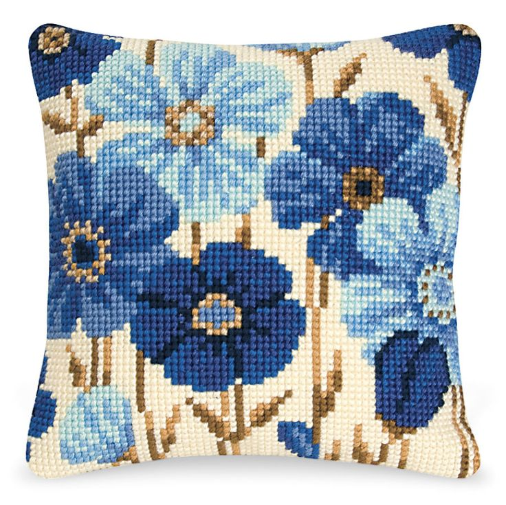 Modern Cross Stitch Pillow Kits : 25+ basta ideerna om Cross Stitch Pillow pa Pinterest Korsstygnsmonster