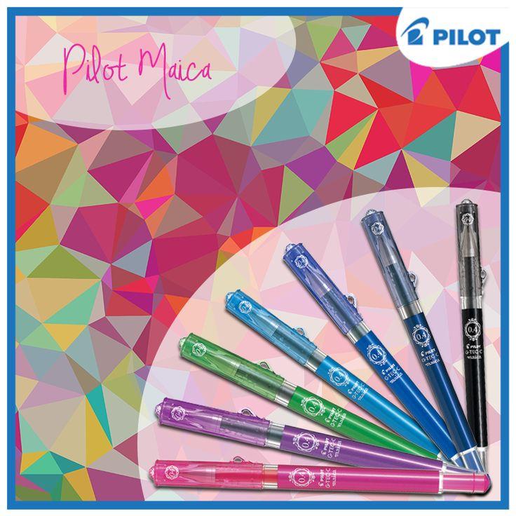 Objevte všechny odstíny nového gelového rolleru Pilot Maica <3 :)