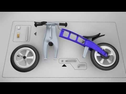 How to assemble FirstBIKE