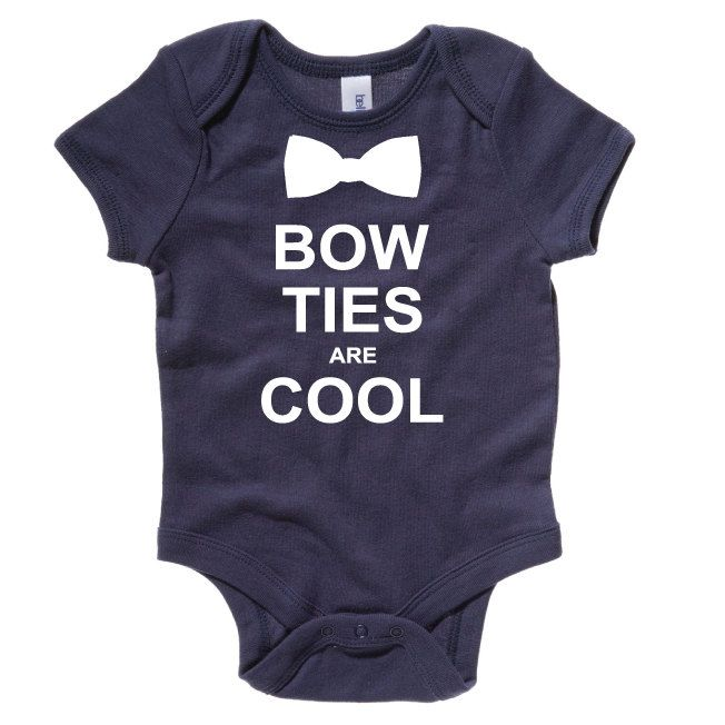 Bow Ties Are Cool Funny Baby Onesie. Cute Baby Bodysuit. Funny Bow Tie Baby Grow. Baby Gift. Baby Sleepsuit. by SoPinkUK on Etsy