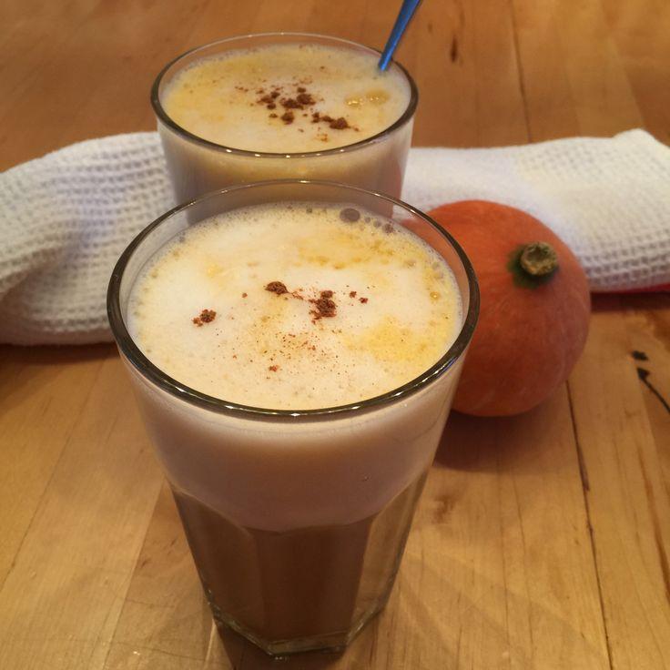 Vom Mittagessen hatten wir heute noch Kürbispüree (Hokkaido) über. Damit habe ich spontan einen Pumpkin Spice Latte ausprobiert. Und ich muss sagen, er war sehr, sehr lecker, aromatisch und herbstl…