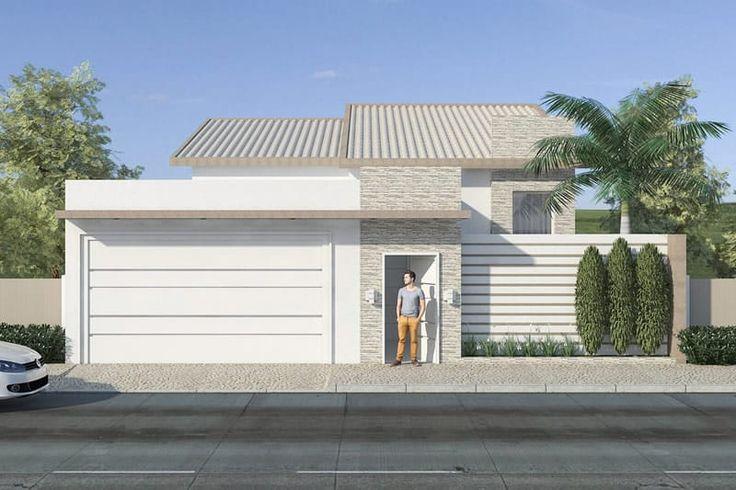 25 melhores ideias sobre garagem para 3 carros no for Casa moderna 6 parte 2
