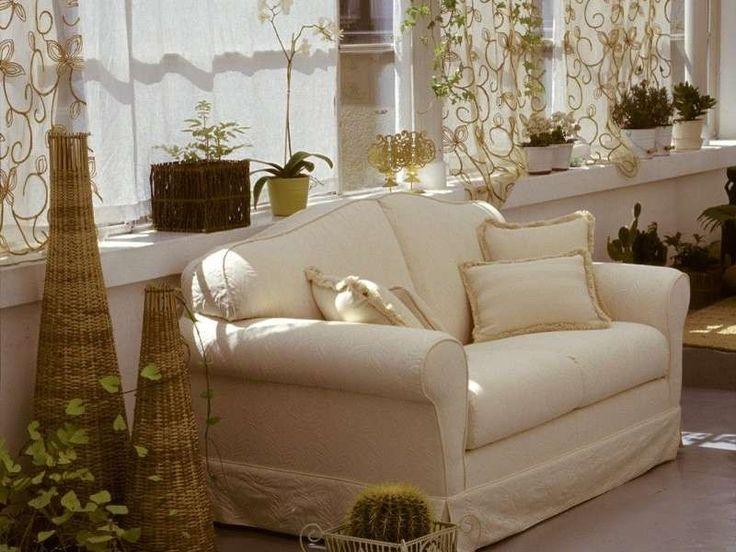 Rinnovare divano fai da te - Divano bianco