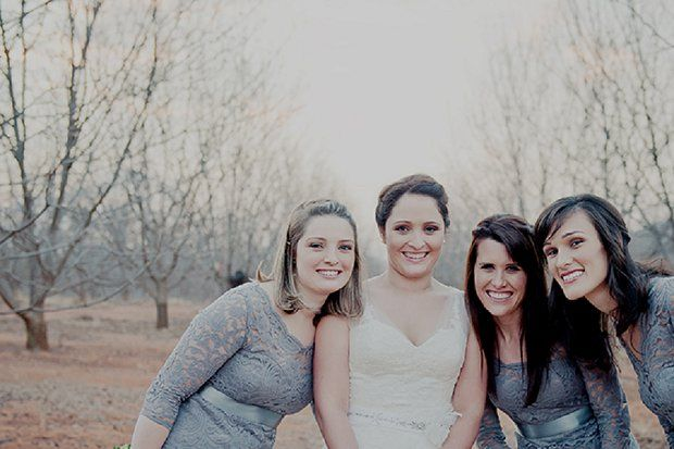 Tammy & bridesmaids
