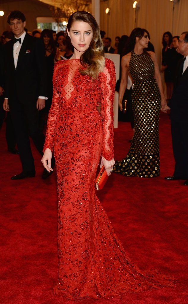 Red Carpet Ready from Amber Heard's Best Looks