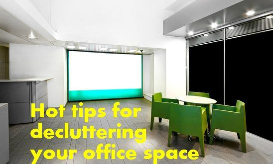 Hot tips for decluttering your office space