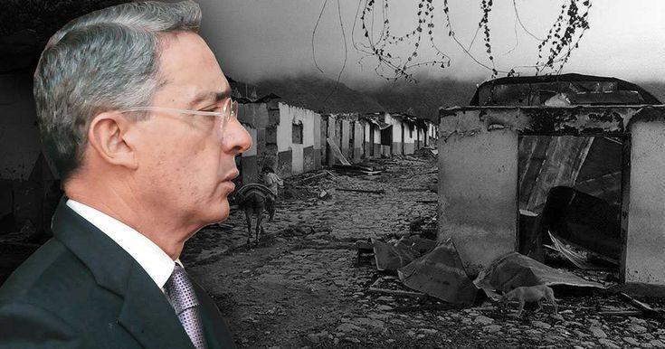 El Alto Tribunal tendrá la facultad de indagar si el hoy senador tiene alguna responsabilidad en la masacre cometida por los paramilitares en el 1997, mientras él era gobernador de Antioquia. Uribe responde.