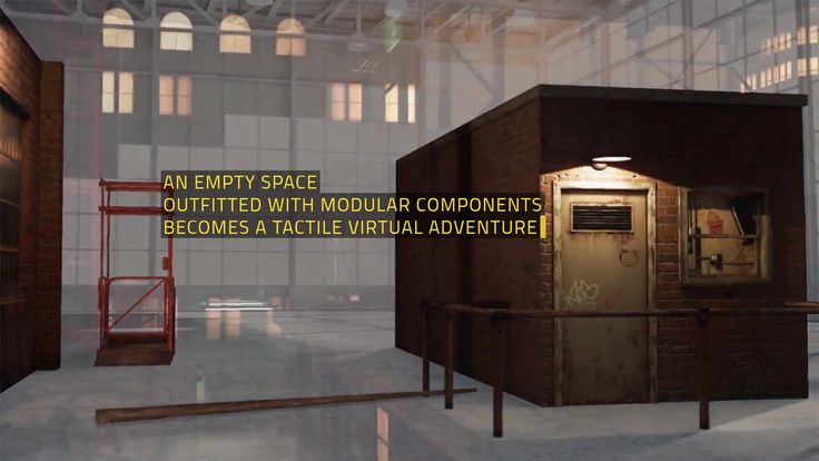NOMADIC VR – Turn your Empty Space to a Tactile Virtual Simulation